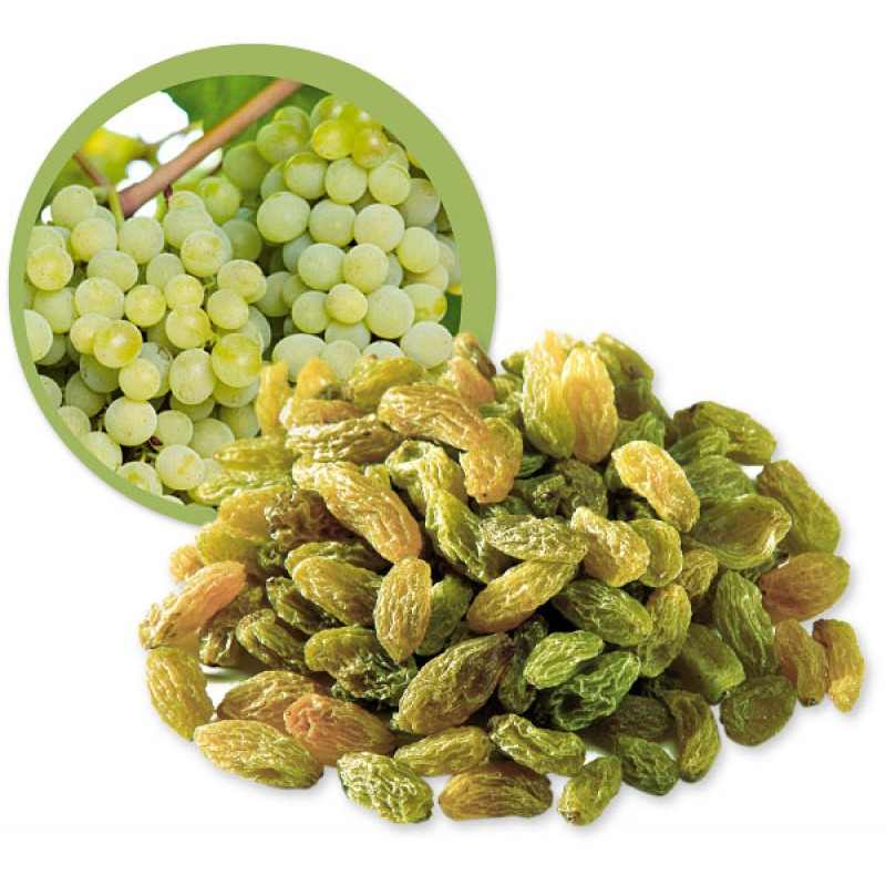 Green raisins wholesale by Samrin Trade